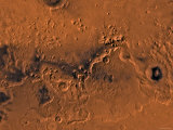Ismenius Lacus Region of Mars