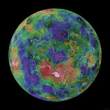 Venus Centered on the North Pole