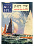 John Bull  Sailing Boats Magazine  UK  1952