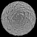 Lunar Mosaic of the South Polar Region of the Moon