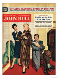 John Bull  Womens Fur Coats Saleswoman Shop Assistants Husbands Shopping Magazine  UK  1957
