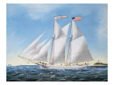 America's Cup Yacht Race of 1885: the Puritan and the Genesta  1886