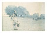 Milkmaid  1875
