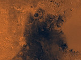 Syrtis Major Region of Mars