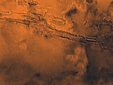 Coprates Region of Mars