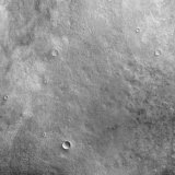 Kepler Crater on the Surface of Mars