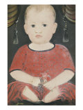 Portrait of Baby Woods  c1840
