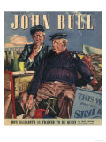 John Bull  Nautical Seaside Holiday Magazine  UK  1947
