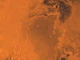 Lanae Palus Region of Mars