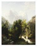 Path Through the Mountains  1858