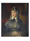Portrait of a Lady  Thought to Be Emily St Clare  18th Century