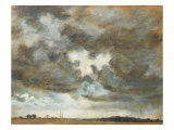 Cloud Study R A  19th Century
