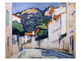 Streetscene  Cassis  c1913