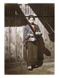 Sake Seller  Japan  c1868