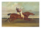 Actaeon Beating Memnon in the Great Subscription Purse at York August 1826  c1831
