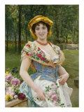 Rose Celebration  Tripudio Di Rose  19th Century