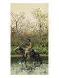 Indian on Horseback  1905