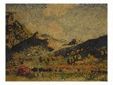 Study for the Small Mauresian Mountains  1909