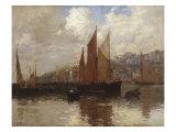 In Brixham Harbour  South Devon  1897