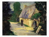 The Village Path Le Chemin du Village  1890