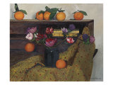 Anemones and Oranges  1924  1924