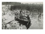 One of Forty Platinum Prints from Life and Landscape on the Norfolk Broads  1886