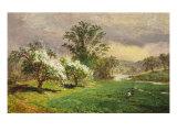 Apple Blossom Time  1889
