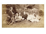 Portrait of the MacDonald Family with Lewis Carroll  1863