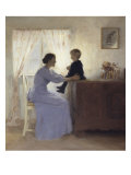 Mother and Child in an Interior  1898