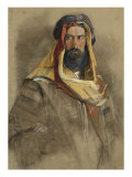 Study of an Arab Sheikh  19th Century