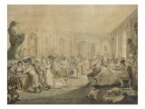 Very's Restaurant in the Palais Royal  Paris  1803
