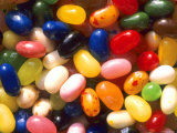Close Up Jelly Beans Carbohydrate Sweets
