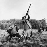 Vincent Auriol  Blasting Away at Pheasants