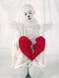 Musical Comedy Star Gwen Verdon in Costume of Harlequin