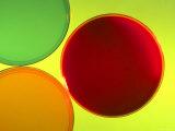 Multicolored Culture Media in Petri Dishes