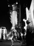 Alan Shepard Striding Toward Mercury Launch Pad to Become First American in Space