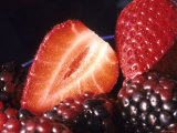 Fruit Healthy Food Strawberries Blackberries