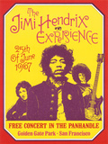 Jimi Hendrix  Free Concert in San Francisco  1967