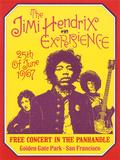 Jimi Hendrix, Free Concert in San Francisco, 1967 Reproduction d'art par Dennis Loren