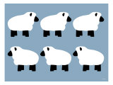 Blue Sheep Family