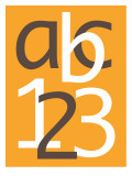 Orange ABC and 123