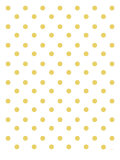 Yellow Polk-a-dots