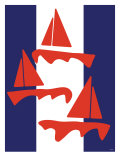 Red Sailboats