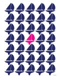 Navy Pink Regatta