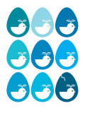 Blue Egg Hatching