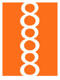 Orange Figure 8 Design