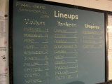 New York Yankee Stadium Finale Line Up  New York  NY