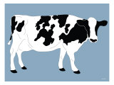 Blue Dairy Cow