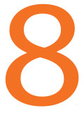 Orange Eight