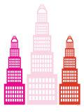 Pink Sky Scrapers